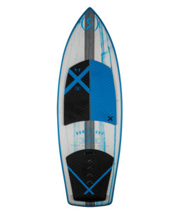 Ronix Hex Shell   Thruster   Natural / Paint Drip Blue 2018