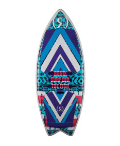 Ronix Womens Koal w/ Technora   Fish   Blue / Purple / Pink 2018