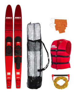 Jobe Allegre 67 Combo Waterskis Package Red 2018