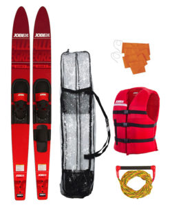 Jobe Allegre 59 Combo Waterskis Package Red 2018