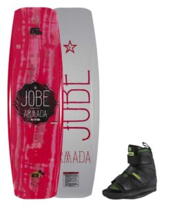 Jobe Armada Red Wakeboard 137 & Host Bindings 2018