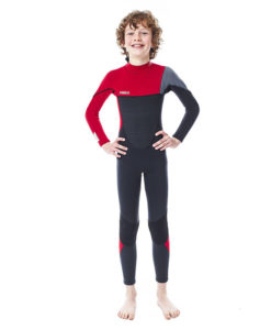 Jobe Boston 3/2mm Wetsuit Kids Red 2018