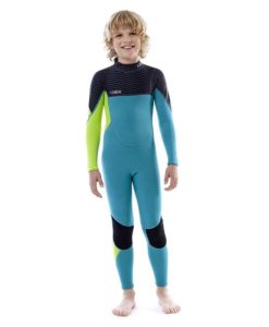 Jobe Boston 3/2mm Wetsuit Kids Teal Blue 2018