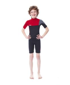 Jobe Boston Shorty 2mm Wetsuit Kids Red 2018