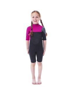 Jobe Boston Shorty 2mm Wetsuit Kids Pink 2018