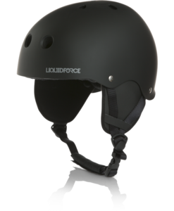 Liquid Force Flash W/Earflaps  Ce Rubber Black
