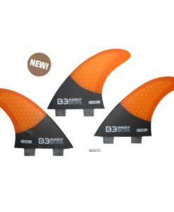 B3 Set Aletas Surf Honey Carbon Future (3 aletas)