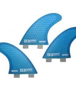 B3 Set Aletas Surf Honey Comb FCS (3 aletas)