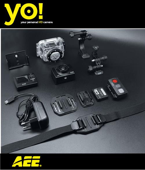 Nueva cámara YO Action Camcorder.