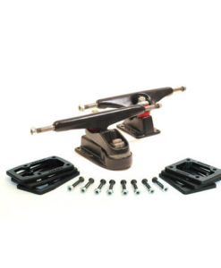 C7 Set 6,5 Negro Powerder Coating C7 Del, C2 Tras, Risers, Hardware