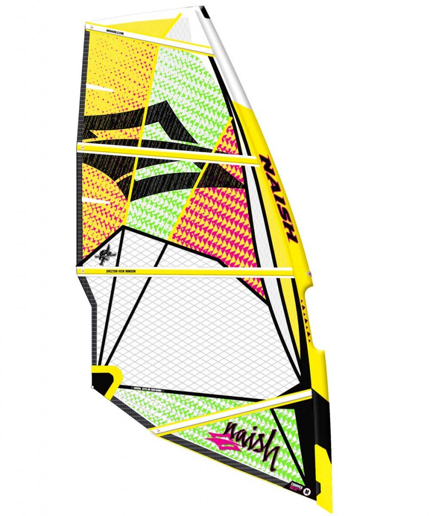 Nueva vela de Naish Chopper 2012
