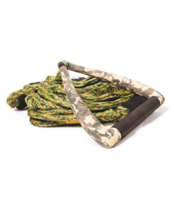 Liquid Force Surf Dlx Rope 9 Handle  Camo